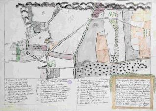 Plan Topográfico de la Granja