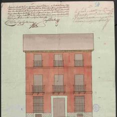 Casa de Miguel Rodríguez en la calle del Bastero de Madrid