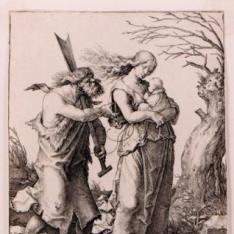 Adán y Eva después de la expulsión del Paraíso