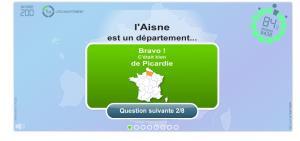 Quizz Départements et Préfectures. Jeux géographiques