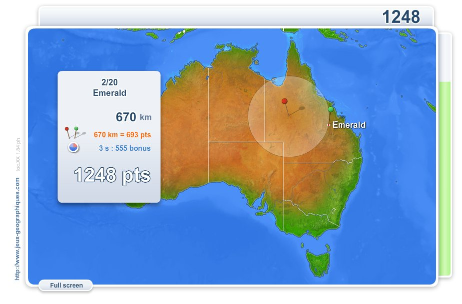Interactive map of Australia Cities of Australia . Geography ...