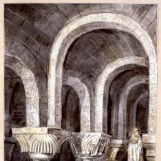 Cripta del monasterio de Leyre, Navarra
