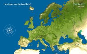 Europas halvøer. Toporopa