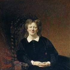 Retrato de una dama francesa