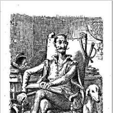 Den sindrüge adelsmand Don Quixote af la Manchas
