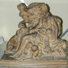 Diana con una ninfa, amorcillos y sátiros
