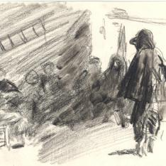 Escena de pescadores
