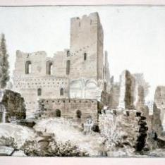 Ruinas del castillo de Montearagón, Huesca