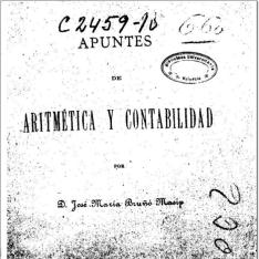Apuntes de aritmética y contabilidad
