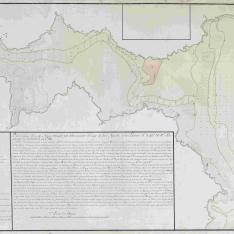 Plano de la Ria de Navia