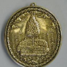 Medalla de Isabel I, reina de Inglaterra