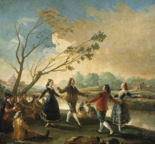 Baile a orillas del Manzanares