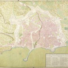 Plano de la Plaza de Palma Capital