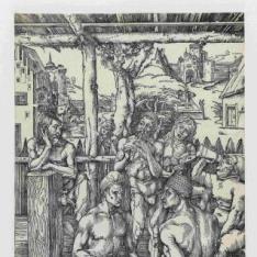 Hombres en el baño