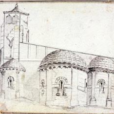 Cabecera de la iglesia de San Juan de los Caballeros, Segovia