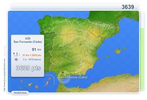 Ciudades de España. Juegos Geográficos