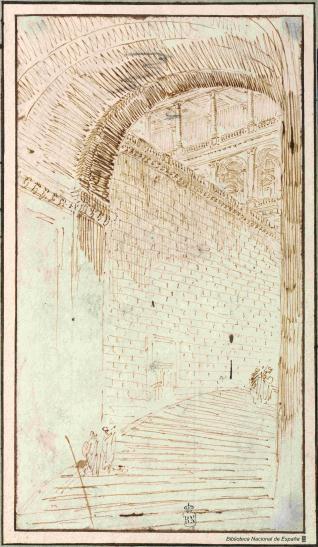 Escalera de un palacio