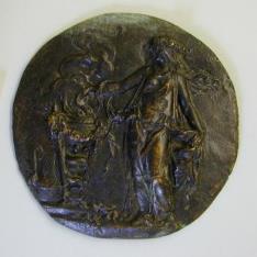 Medalla alegórica