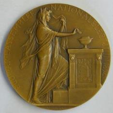 Medalla conmemorativa de la elección de Jean Paul Casimir-Périer como Presidente de la República Francesa