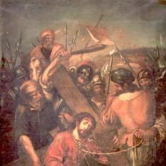 Cristo camino del Calvario