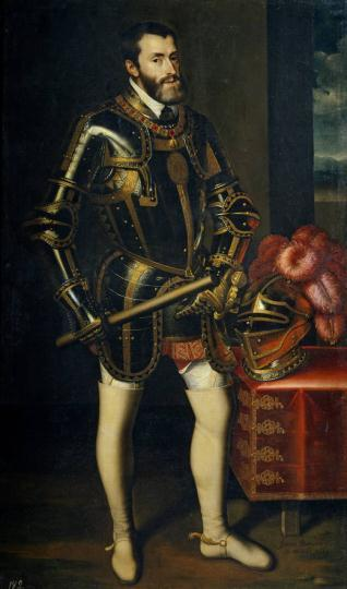 El emperador Carlos V