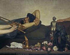 Escena pompeyana, o La siesta
