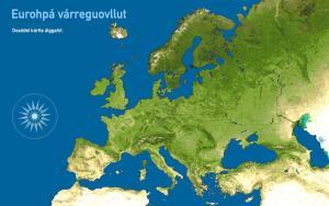 Eurohpá várreguovllut. Toporopa