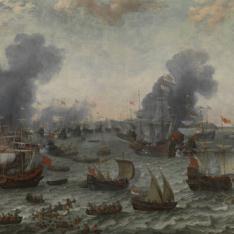 La Batalla de Gibraltar, 25 de abril 1607