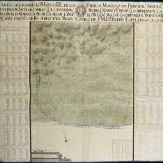 Carta geographica de la Provincia de Marina de Sevilla