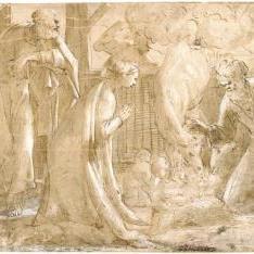 La Natividad / La Adoración de los pastores