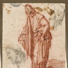 El Apóstol Santiago / Apóstol caminando