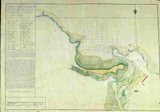 Plano de la Ria de Rivadesella
