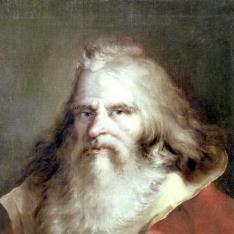 Retrato de viejo barbado