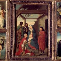 Tríptico de la Adoración de los Reyes