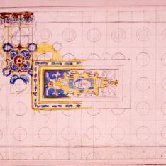 Detalle decorativo del palacio de la Audiencia de Valencia  (Palau de la Generalitat)