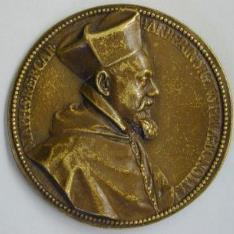 Marco Antonio Memmo, Dux de Venecia, y el cardenal Maffeo Barberini, futuro papa Urbano VIII
