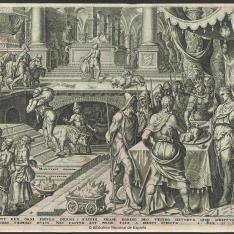 Josías celebrando la Pascua