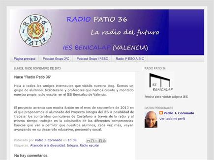 RADIO PATIO 36