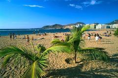 La playa humana