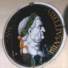 Placa del emperador Vitelio