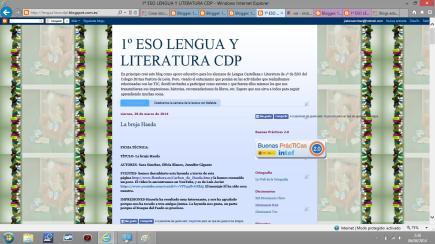 1º ESO LENGUA Y LITERATURA CDP