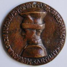 Medalla de Niccolò Piccinino, condottiero