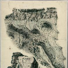 Plano del Valle de Peñarrubia