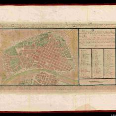 Plano Scenographico de la Ciudad de los Reyes o Lima