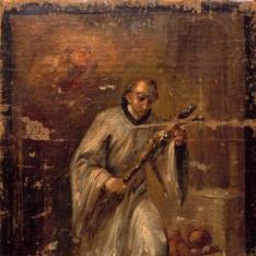 San Luis Gonzaga en gloria