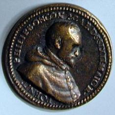 Medalla de Filippo Boncompagni, cardenal