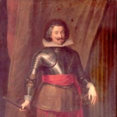 Retrato de Charles Bonaventure de Longheval, Conde de Bucquoy