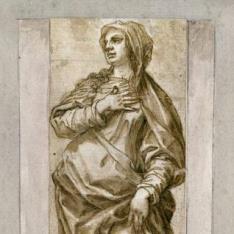 La Virgen María (¿fragmento de un Calvario ?)