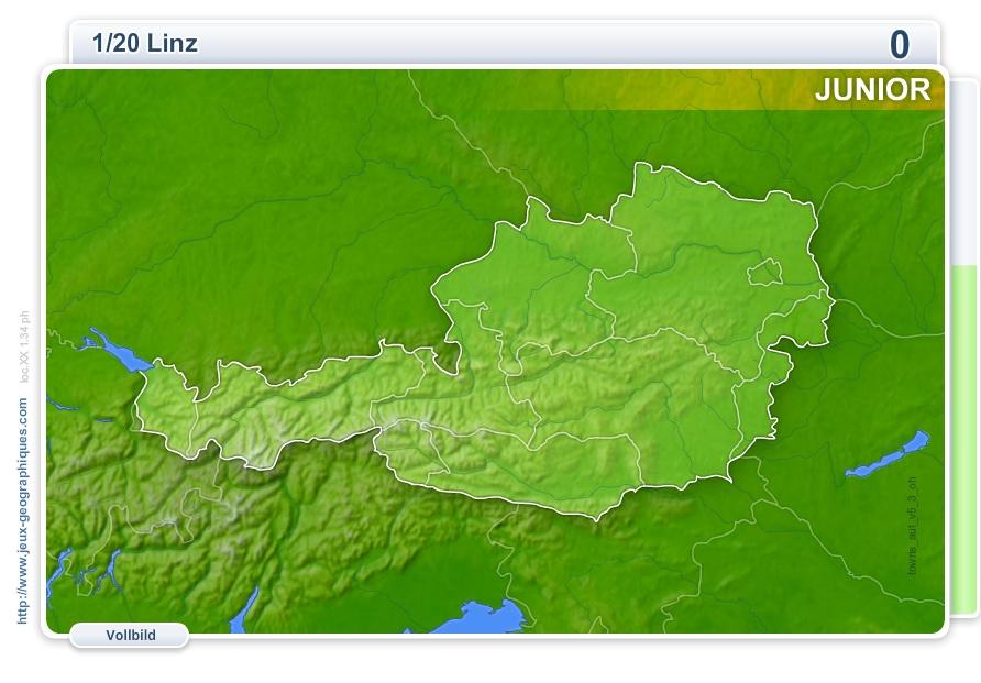 Städte Österreichs Junior. Geographie Spiele