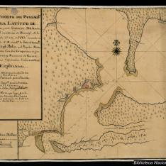 Plano del Puerto de Panzacola